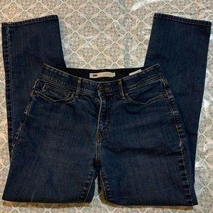 Levi's 525 Perfect Waist Straight Leg Jeans. Sz 8